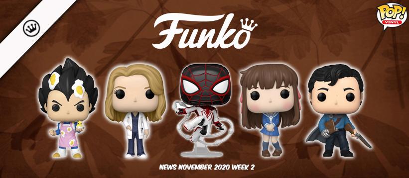 Funko Nieuws November 2020 Week 2! DragonBall Super, Fruits Basket, Marvel en meer!