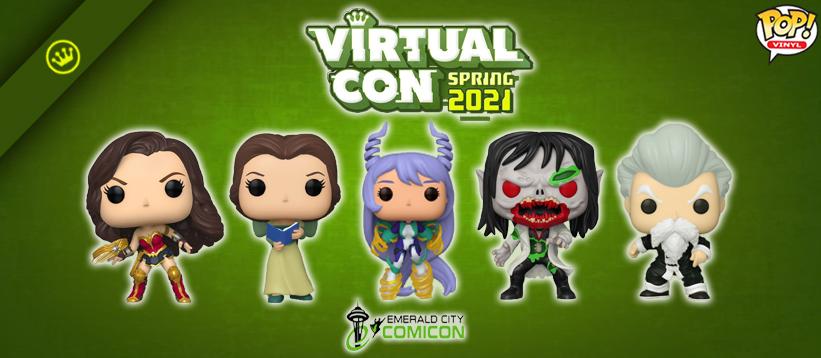 Virtual Con: Emerald City Comic Con Spring 2021