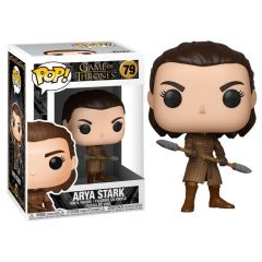ARYA WITH TWO HEADED SPEAR