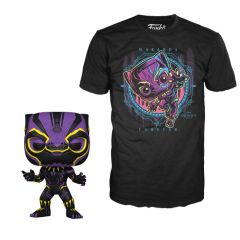 BLACK PANTHER BLACKLIGHT COLLECTORS BOX