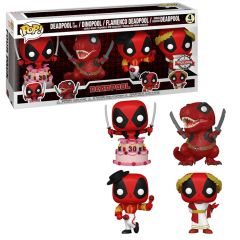 DEADPOOL 4 PACK EXCL.
