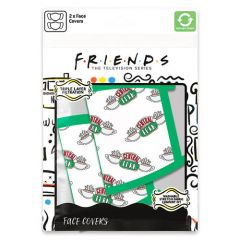 FRIENDS CENTRAL PERK FACE MASK (2-PACK)