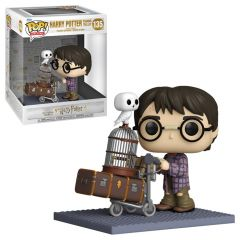 HARRY POTTER PUSHING TROLLEY