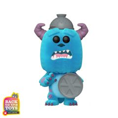 SULLEY WITH LID FLOCKED EXCL.