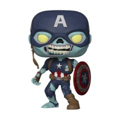 ZOMBIE CAPTAIN AMERICA 10 INCH EXCL.