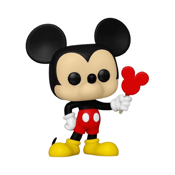 Mickey with Popsicle
